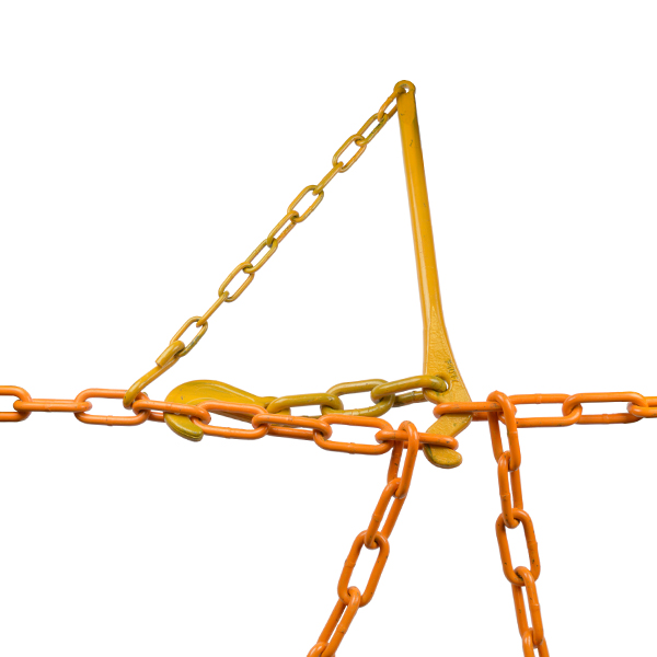 Set Cargo Lashing Chain + Tension Lever (13 mm)